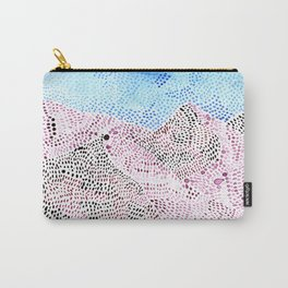 pink snow Carry-All Pouch