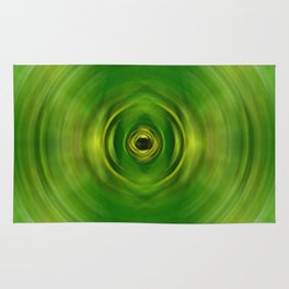 New Growth - Green Art By Sharon Cummings Rug