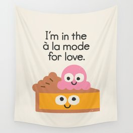 A Relationship Built On Crust Wall Tapestry