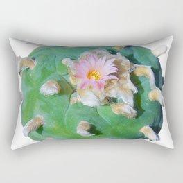 "Lophophora ""Peyote"" Williamsii Entheogen Rectangular Pillow"