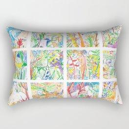 Nature of Men II Rectangular Pillow