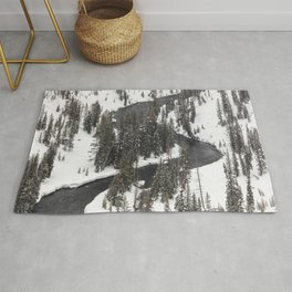Yellowstone National Park - Lewis River 2 Rug