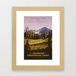 E. C. Manning Provincial Park Framed Art Print