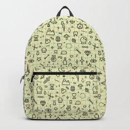 Doodles Pattern Backpack
