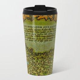 Caspian sea 1570 Travel Mug