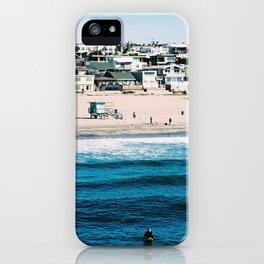 Manhattan Beach, L.A. iPhone Case