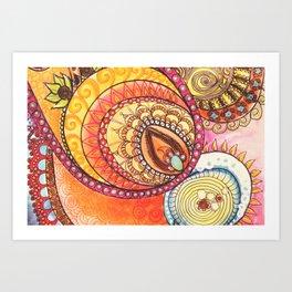 Sweet Inside Art Print