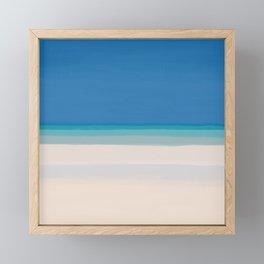 Dreamt Tropical Beach Design Framed Mini Art Print