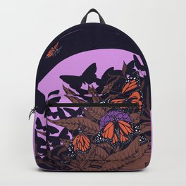 monarchs and milkweed Backpack