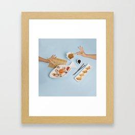 Sushi for one Framed Art Print