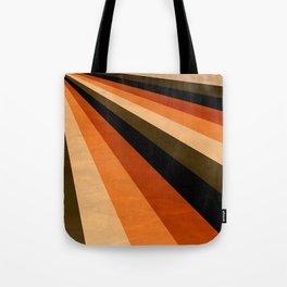 Autumn Stripes Tote Bag
