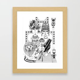 Wild People Framed Art Print