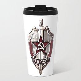 KGB Badge Travel Mug