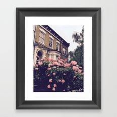 Stoke Newington street Framed Art Print