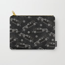 Retro Cadillac car pattern Carry-All Pouch