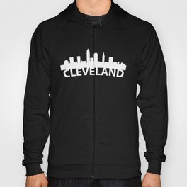 Curved Skyline Of Cleveland OH Hoody