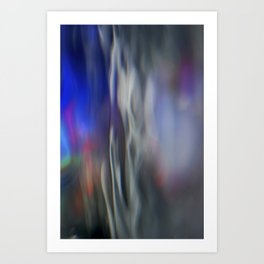 Heavenly lights in water of Life-2 Art Print