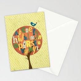 A-BIRD-C Stationery Cards
