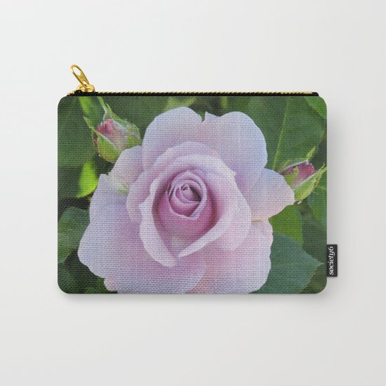 Bloom and Buds Paling to Purple Carry-All Pouch