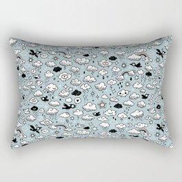 Autumn Skies Pattern Rectangular Pillow