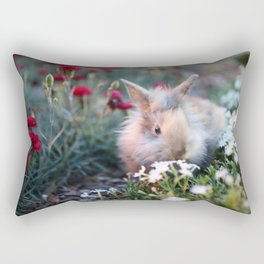 Bunny Rabbit Rectangular Pillow