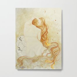 Venus Oceanica Metal Print