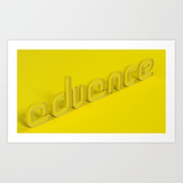 Advance Art Print