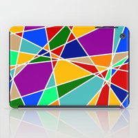 cracked iPad Cases featuring Cracked by MarkStantonDesign