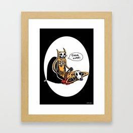 CatDog by zombieCraig Framed Art Print