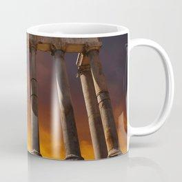 Temple of Saturn Ruins Coffee Mug