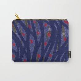 Dark Lines Carry-All Pouch