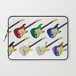 Electric Guitar Collection Laptop Sleeve