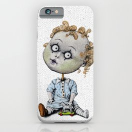 The Zombie Games (boy) iPhone Case