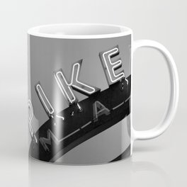 Seattle Pike Place Market Black and White Coffee Mug