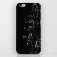 pittsburgh iPhone & iPod Skins featuring Pittsburgh Skyline by Ralf Crawford