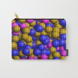 Patterned Balls Carry-All Pouch