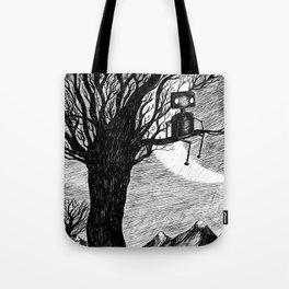 Lonely Robot Tote Bag