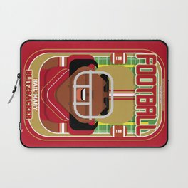 American Football Red and Gold - Hail-Mary Blitzsacker - Aretha version Laptop Sleeve