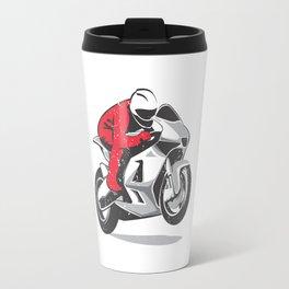 Motorcycle racer Travel Mug