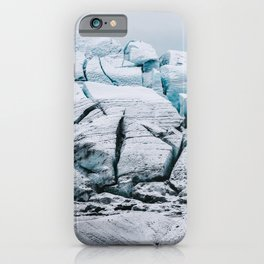 Glacial World of Iceland - Landscape Photography iPhone Case