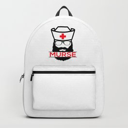 Murse Male Nurse Hospital Health Care Backpack