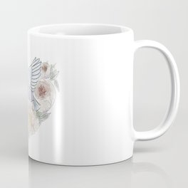 bird of paradise , paradisebirds , simple floral graphic design , gift for gardener Coffee Mug