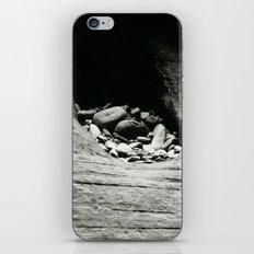 Rocks left after errosion iPhone & iPod Skin