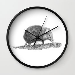 Black Shrew Wall Clock