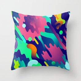 Splash Pattern Throw Pillow