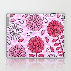 Soft pink flowers Laptop & iPad Skin