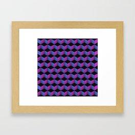 Game of Cubes - Nightclub Framed Art Print