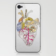 my heart is real iPhone & iPod Skin