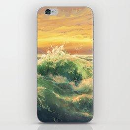 Sea of Trees iPhone Skin