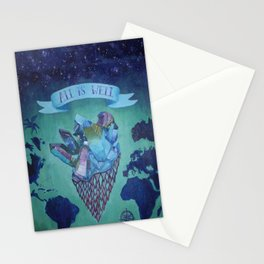 All is Well Stationery Cards